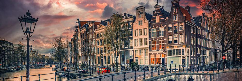 Amsterdam behangpapier