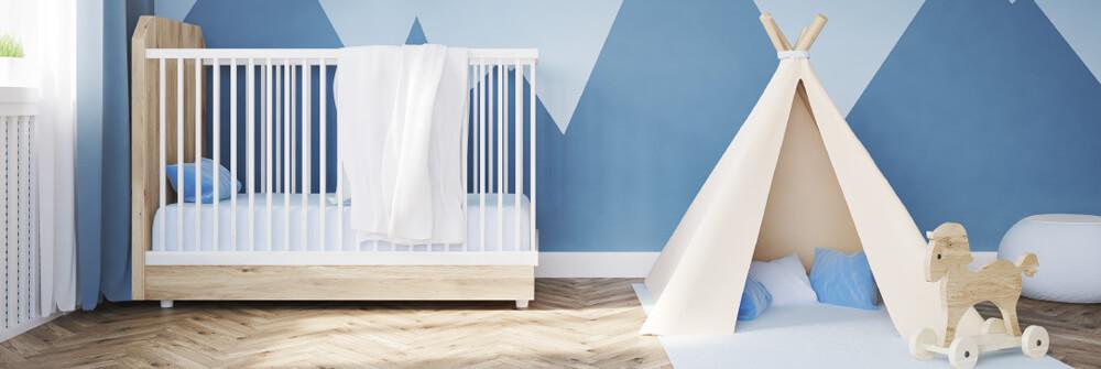 Fotobehang voor de Babykamer