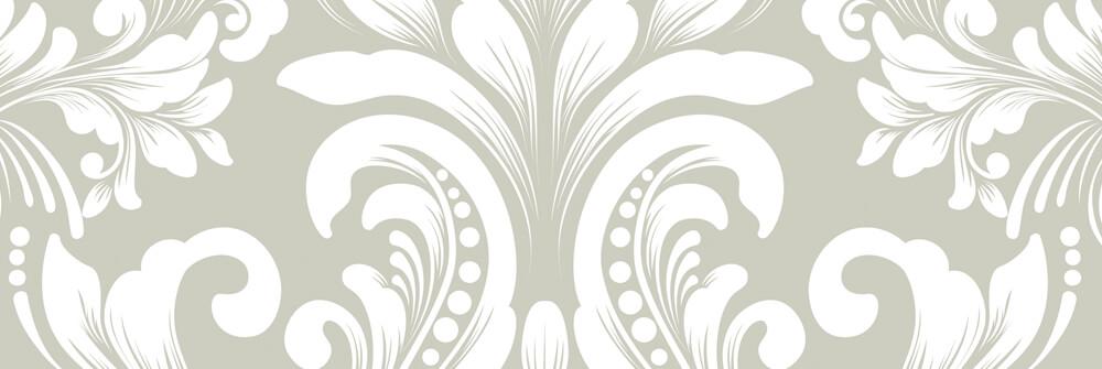 Behangpapier met een Barok Patroon