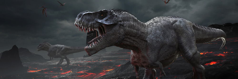 Dinosaurus Behangpapier