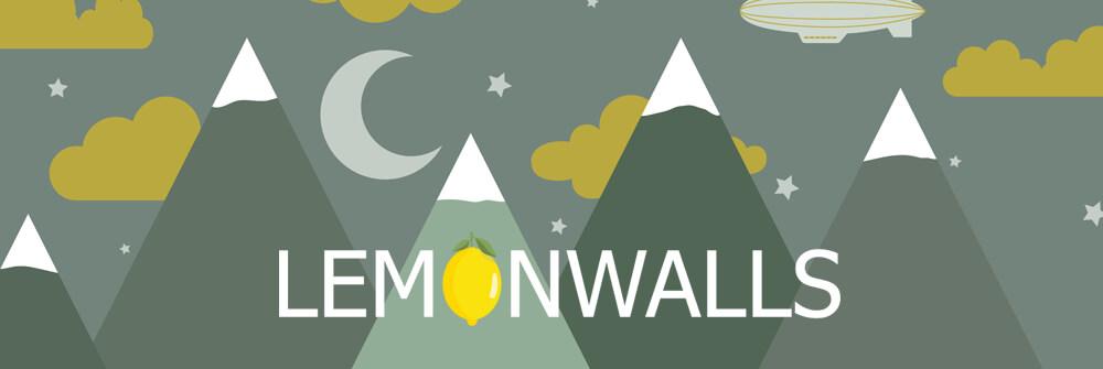 Lemonwalls behangpapier