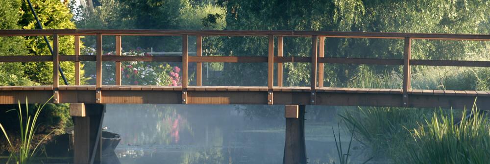 Fotobehang met tuinen en parken