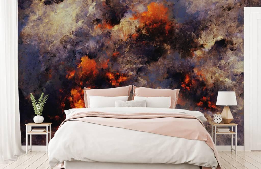 Abstract - Donkere abstracte rookwolken - Magazijn 2