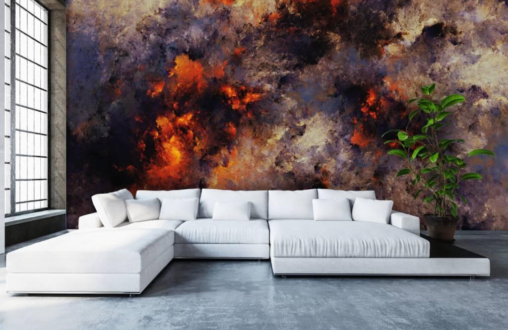 Abstract - Donkere abstracte rookwolken - Magazijn 5