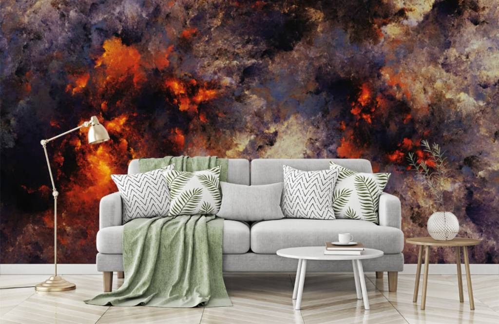 Abstract - Donkere abstracte rookwolken - Magazijn 7