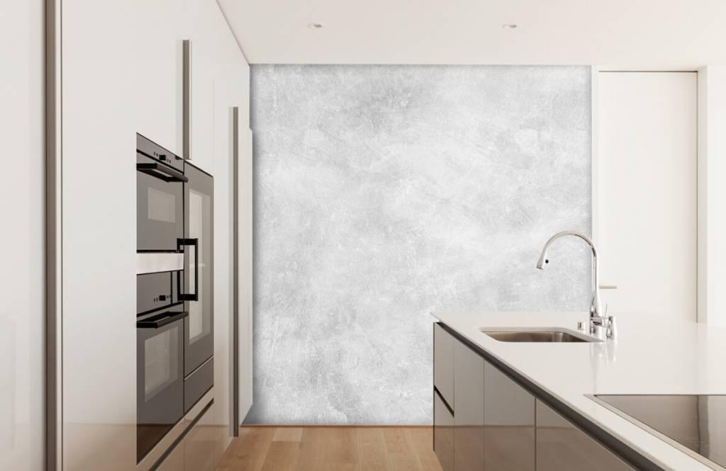 Betonlook behang - Glanzende betonstructuur - Kantoor 3