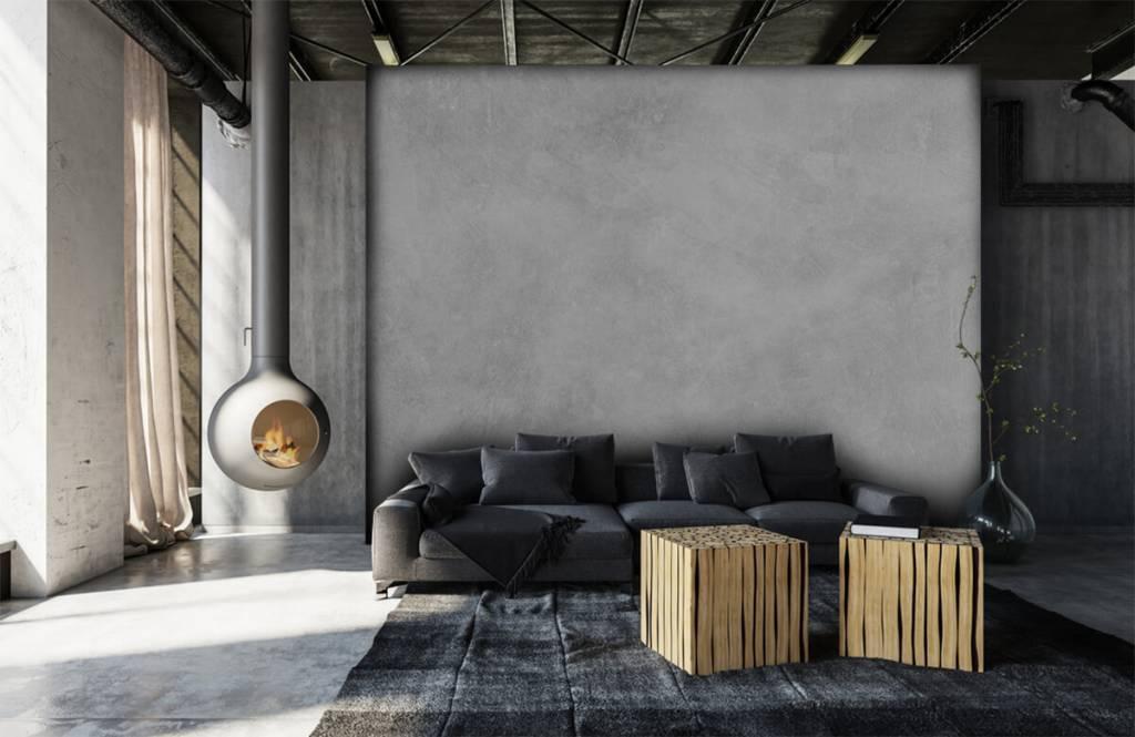 Betonlook behang - Glanzende betonstructuur - Kantoor 6