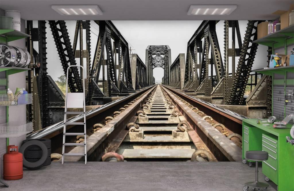 Elementen - Spoorbrug van metaal - Garage 1
