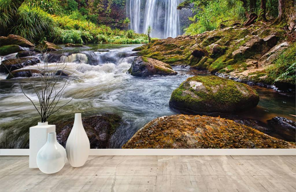 Watervallen - Waterval met stenen - Directie 7