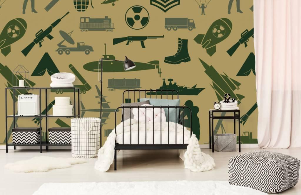 Overige - Militaire illustraties - Kinderkamer 1