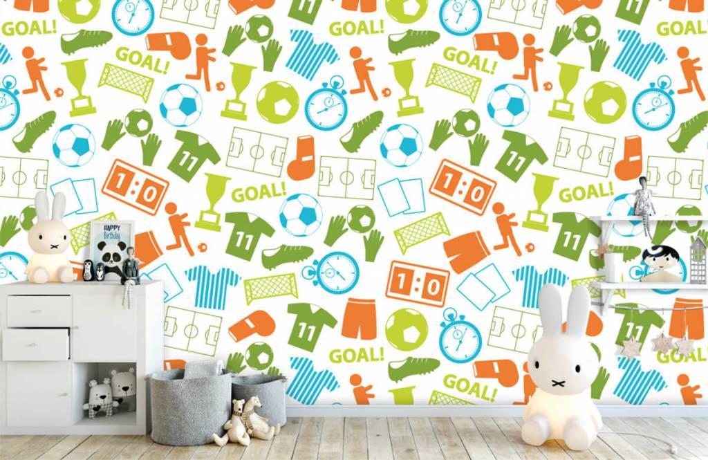 Patronen - Sport illustraties - Kinderkamer 4