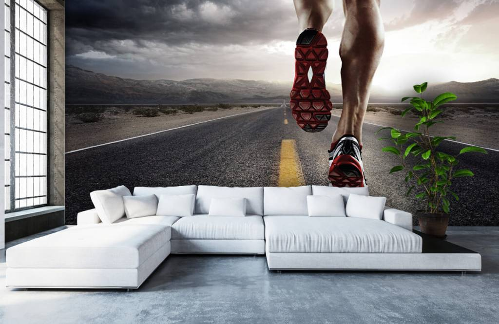 Sport & Fitness - Benen van een renner - Garage 7