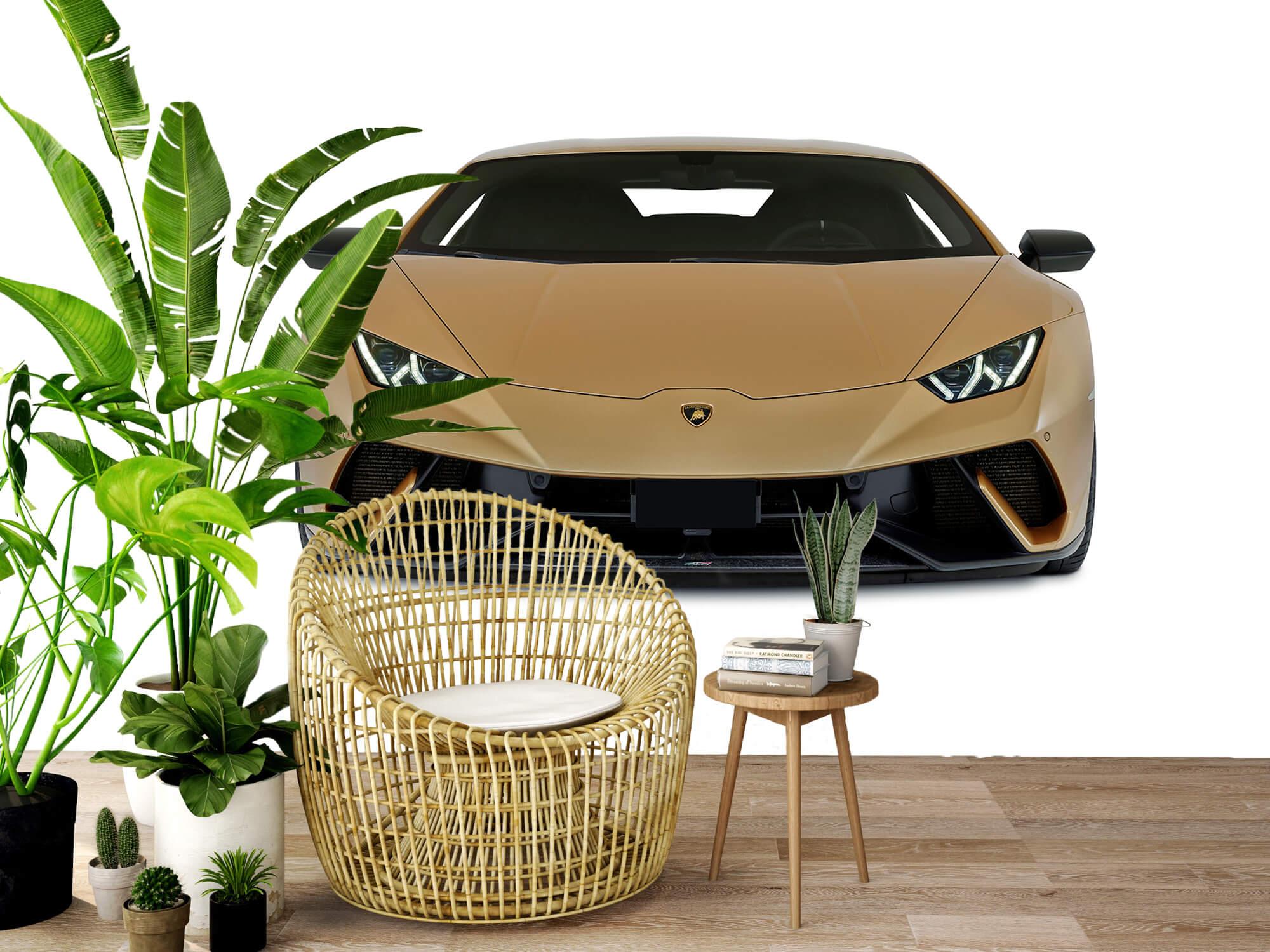 Wallpaper Lamborghini Huracán - Voorkant, wit 3