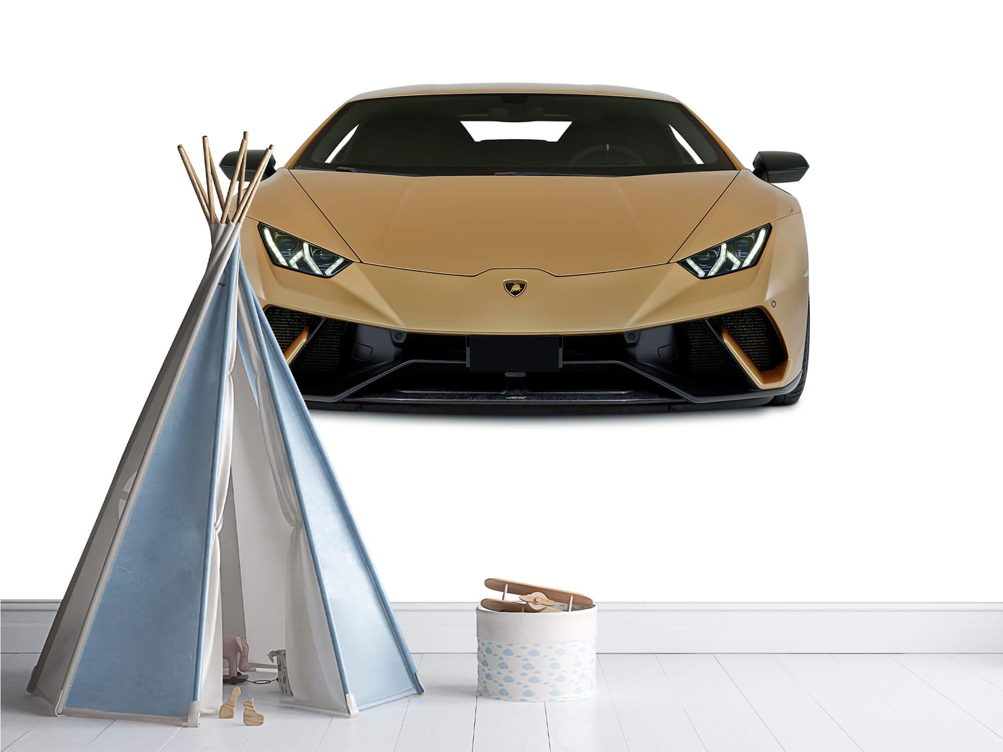 Wallpaper Lamborghini Huracán - Voorkant, wit 9