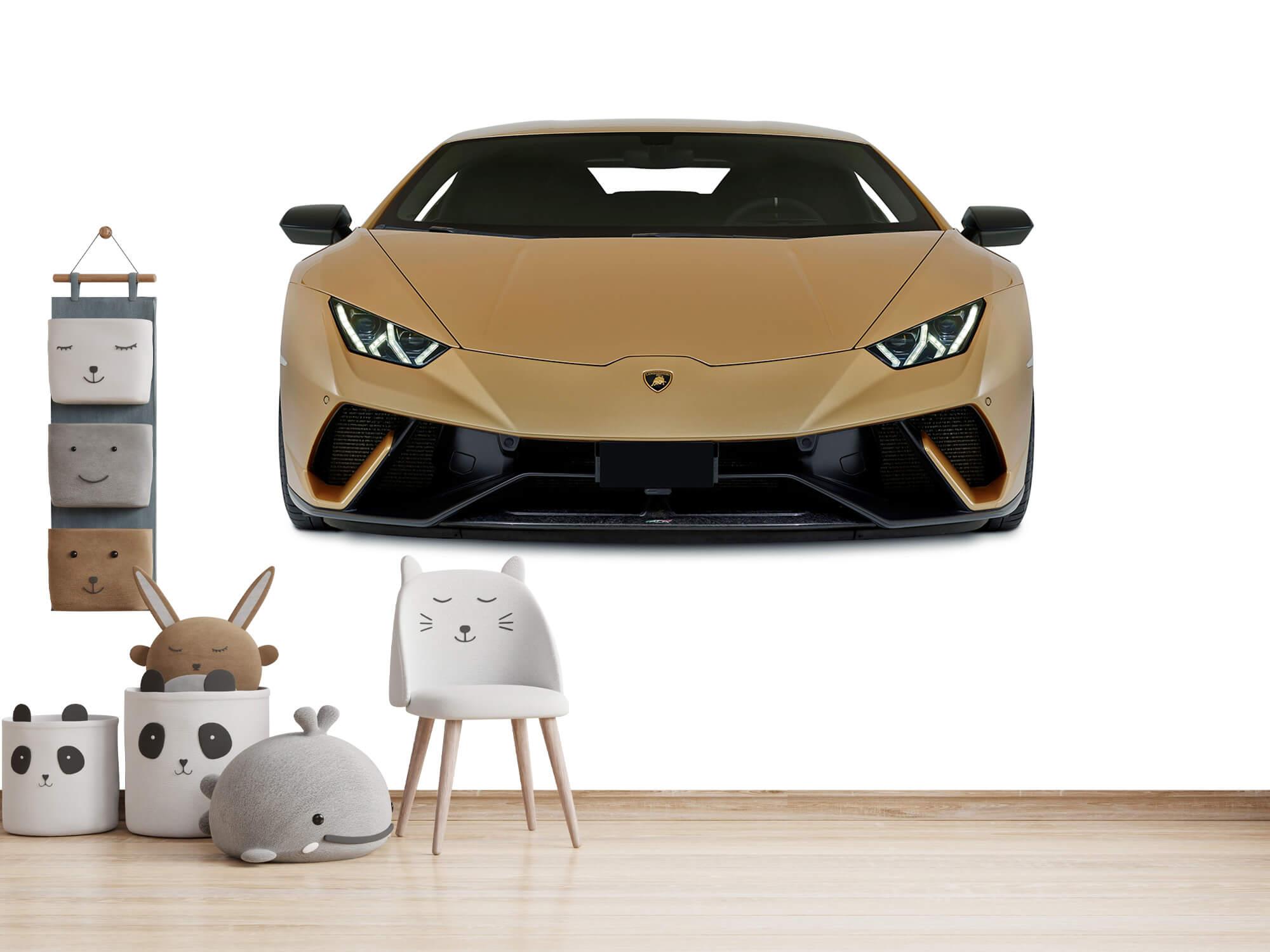 Wallpaper Lamborghini Huracán - Voorkant, wit 12
