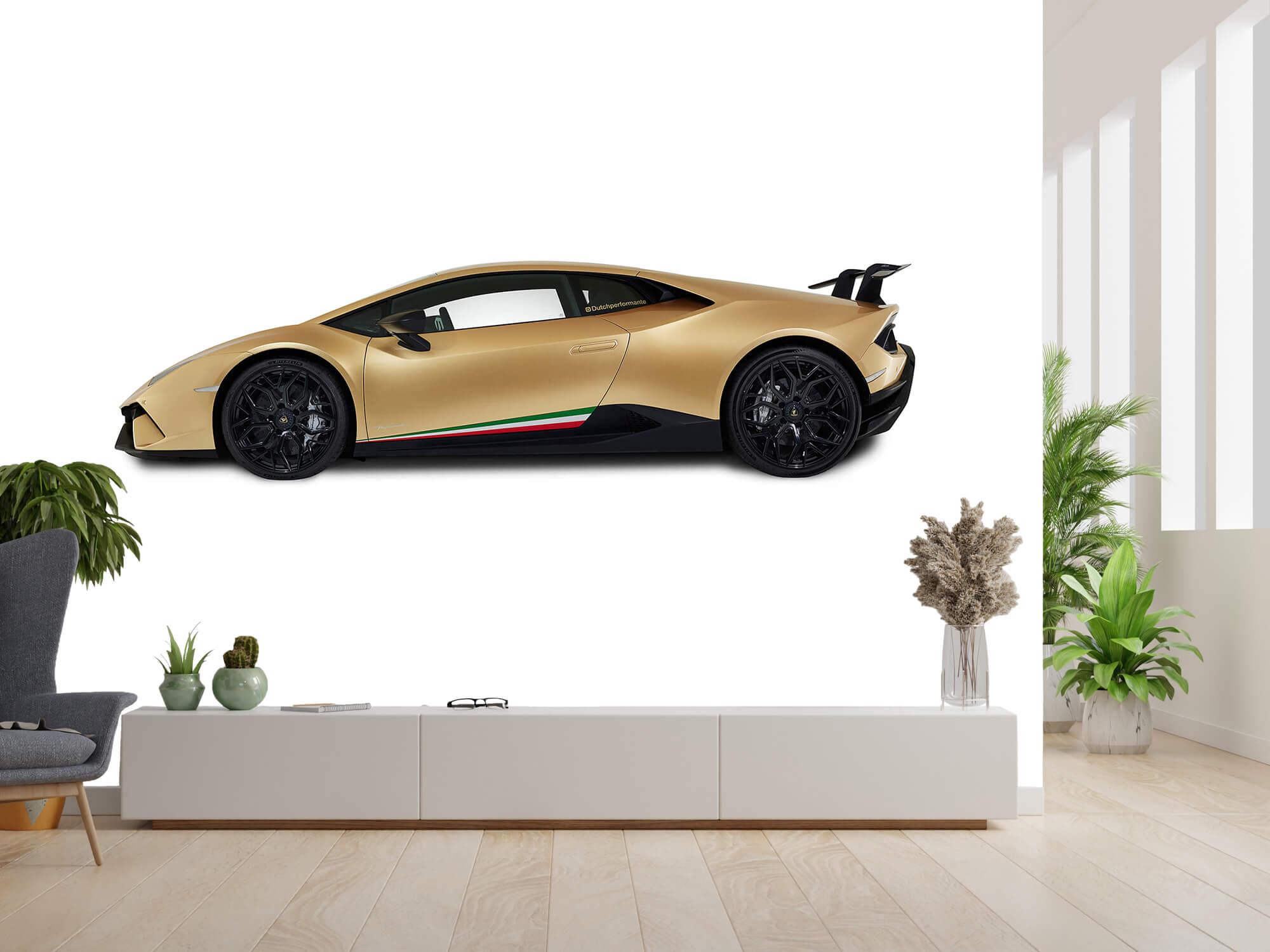 Wallpaper Lamborghini Huracán - Zijkant, wit 6