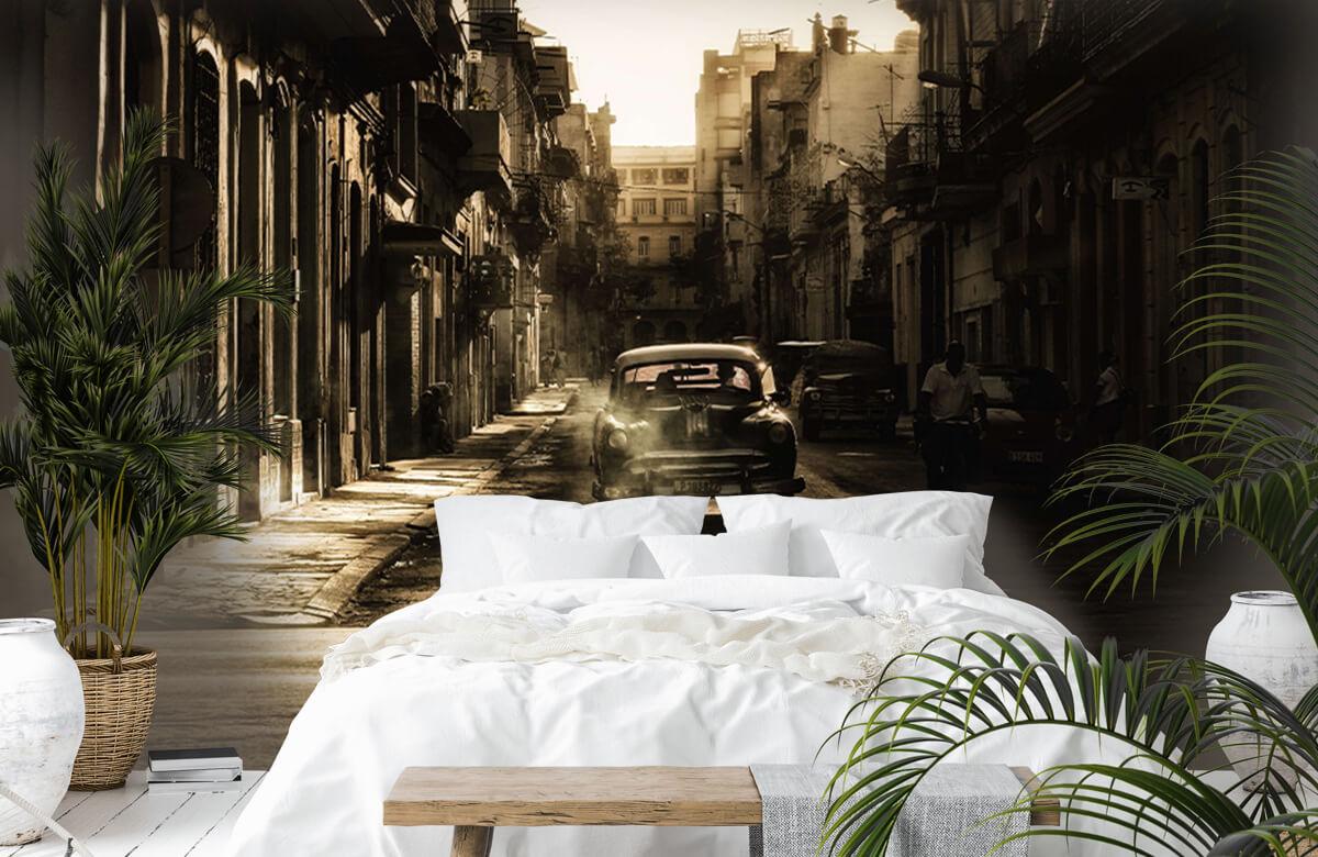 Straat Mystic morning in Havana 7