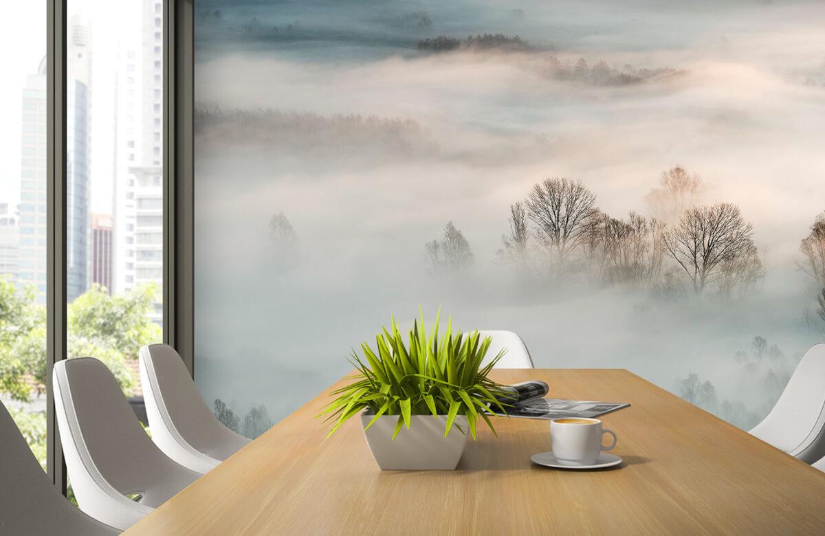 Landschap Winter fog 5