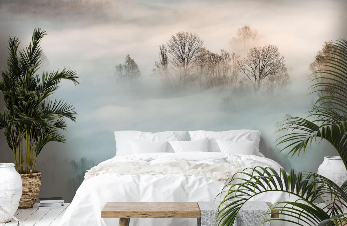Landschap Winter fog 3