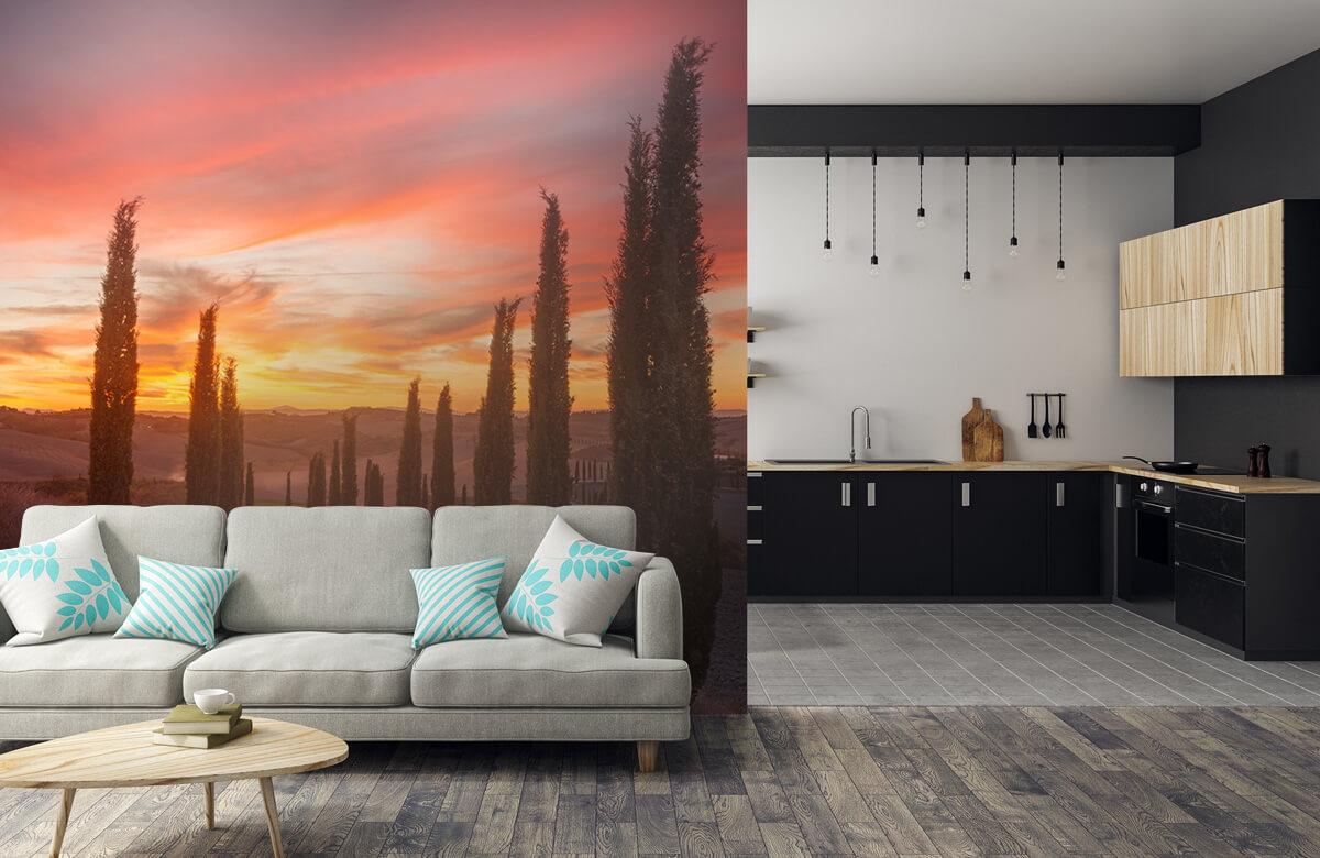 Landscape Tuscany sunset 10