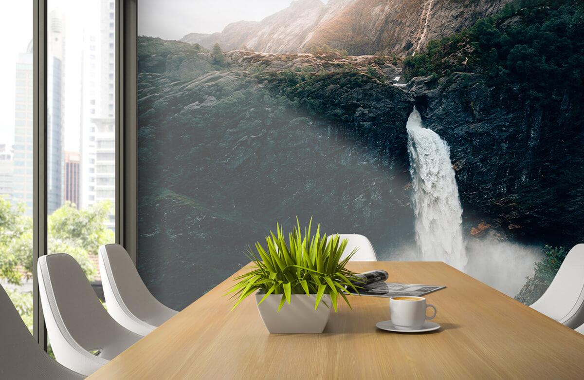 Wallpaper Indrukwekkende waterval 6