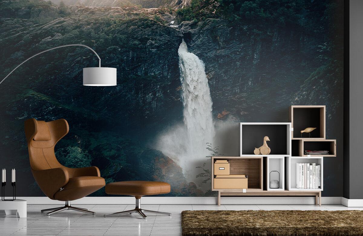 Wallpaper Indrukwekkende waterval 7