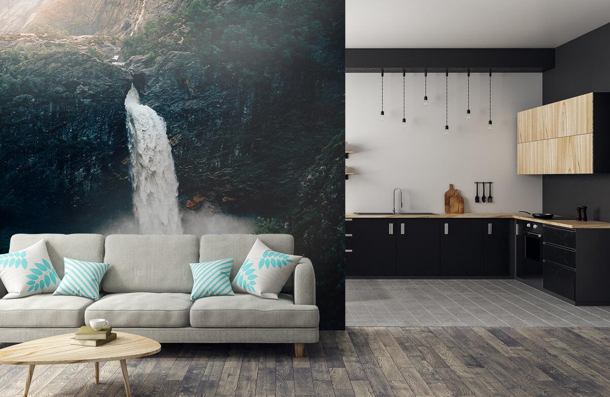 Wallpaper Indrukwekkende waterval 9