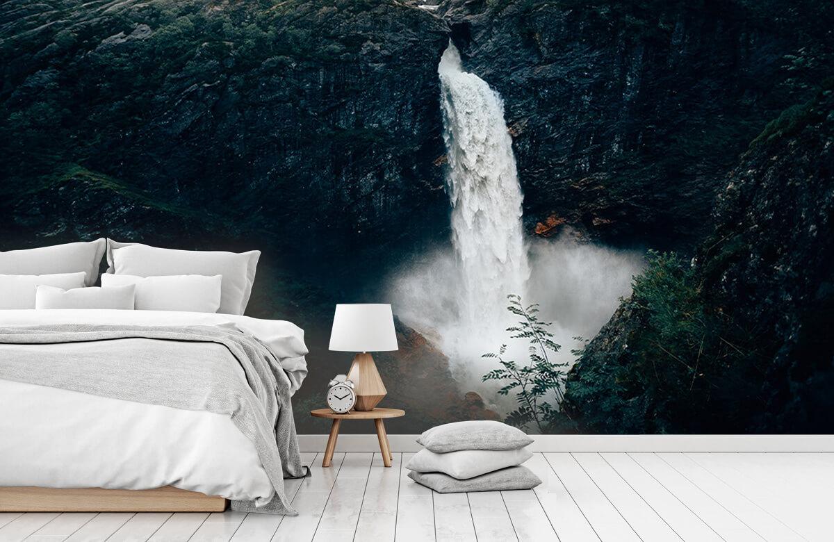 Wallpaper Indrukwekkende waterval 2