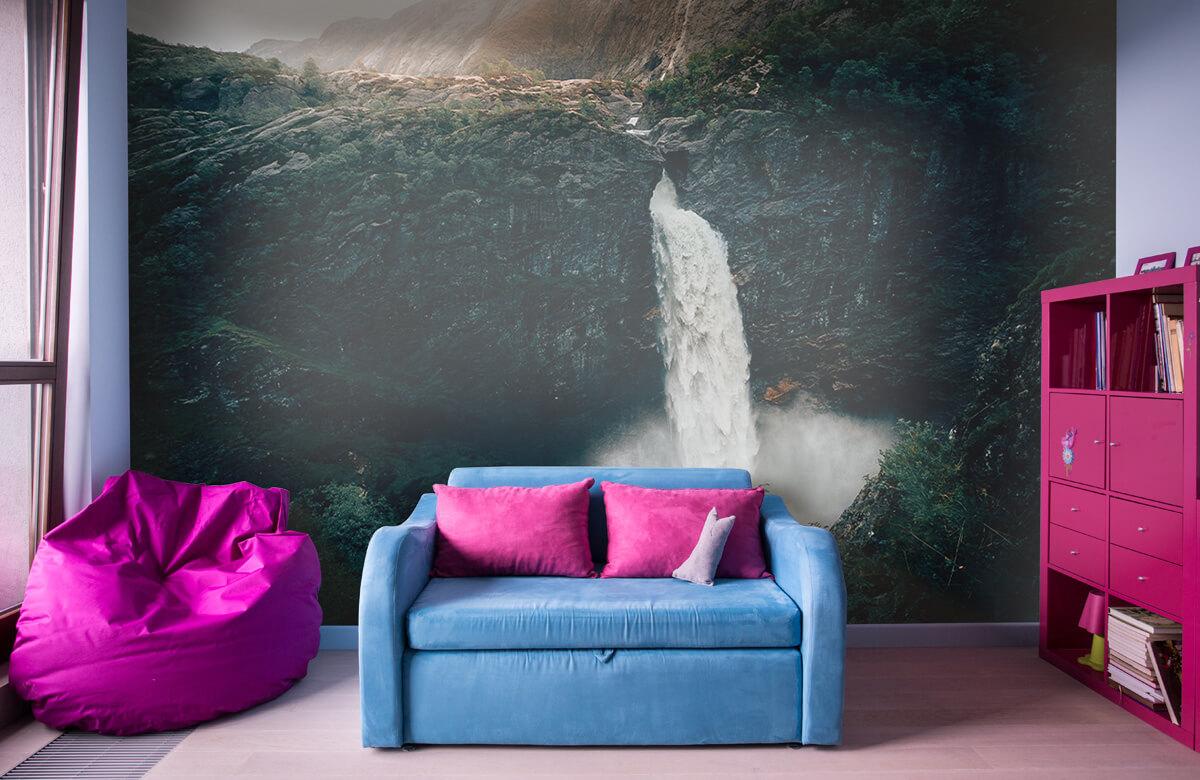 Wallpaper Indrukwekkende waterval 3