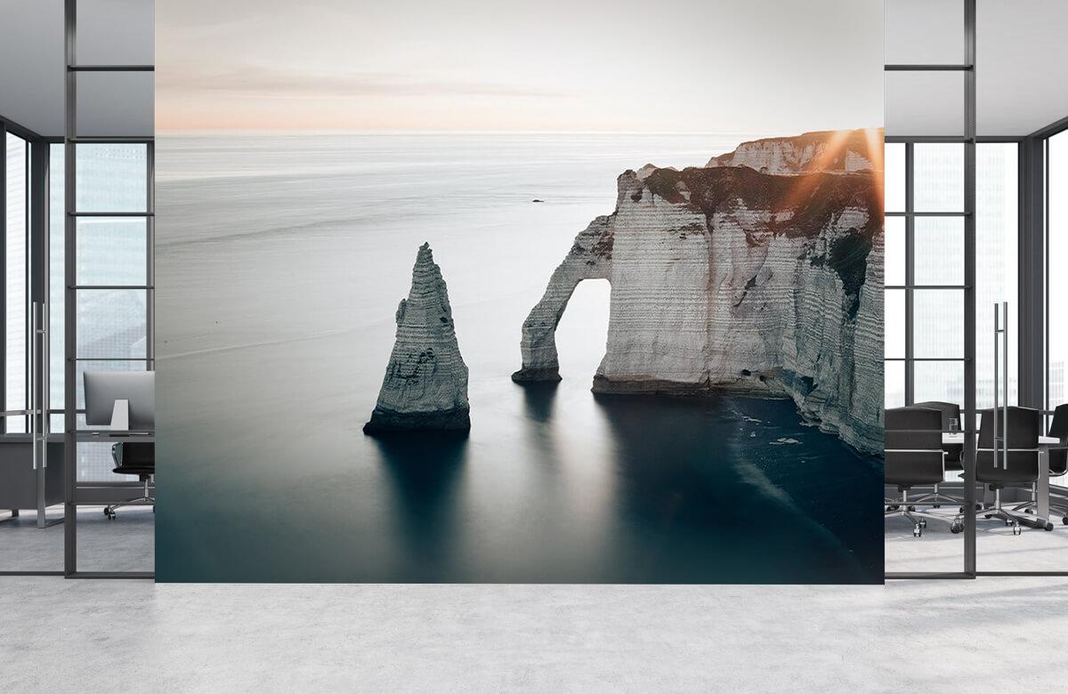 Wallpaper Ochtend zon aan de kust 3