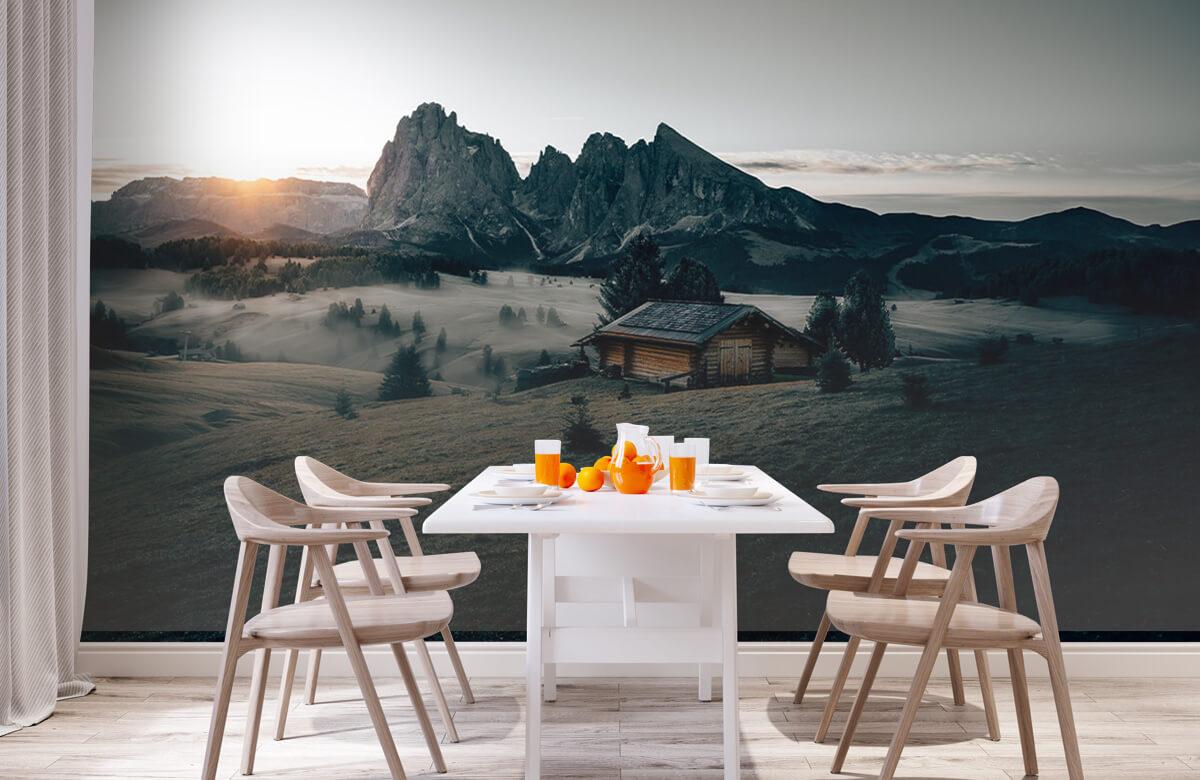 Wallpaper Landschap Zuid-Tirol 4