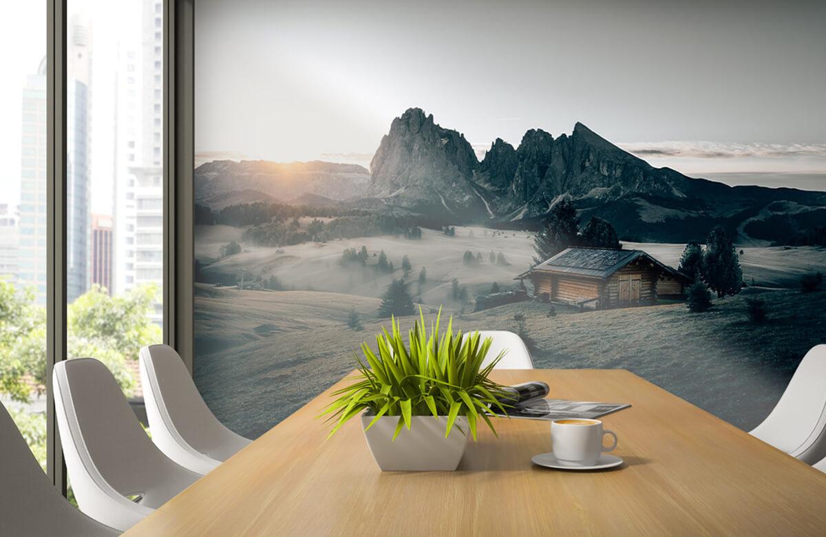 Wallpaper Landschap Zuid-Tirol 2