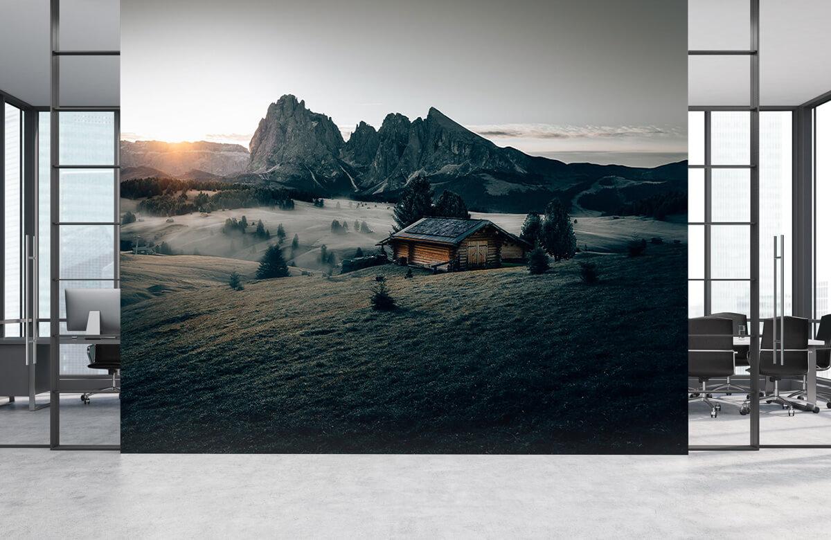 Wallpaper Landschap Zuid-Tirol 6