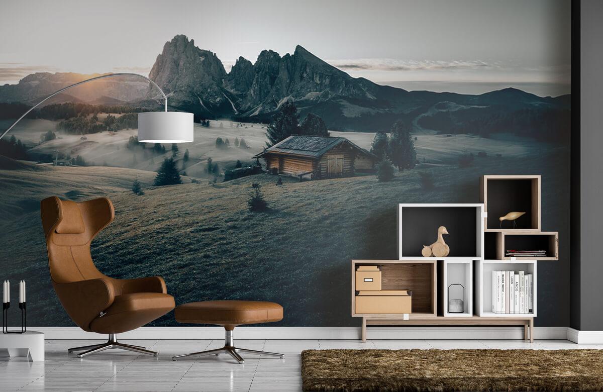 Wallpaper Landschap Zuid-Tirol 8