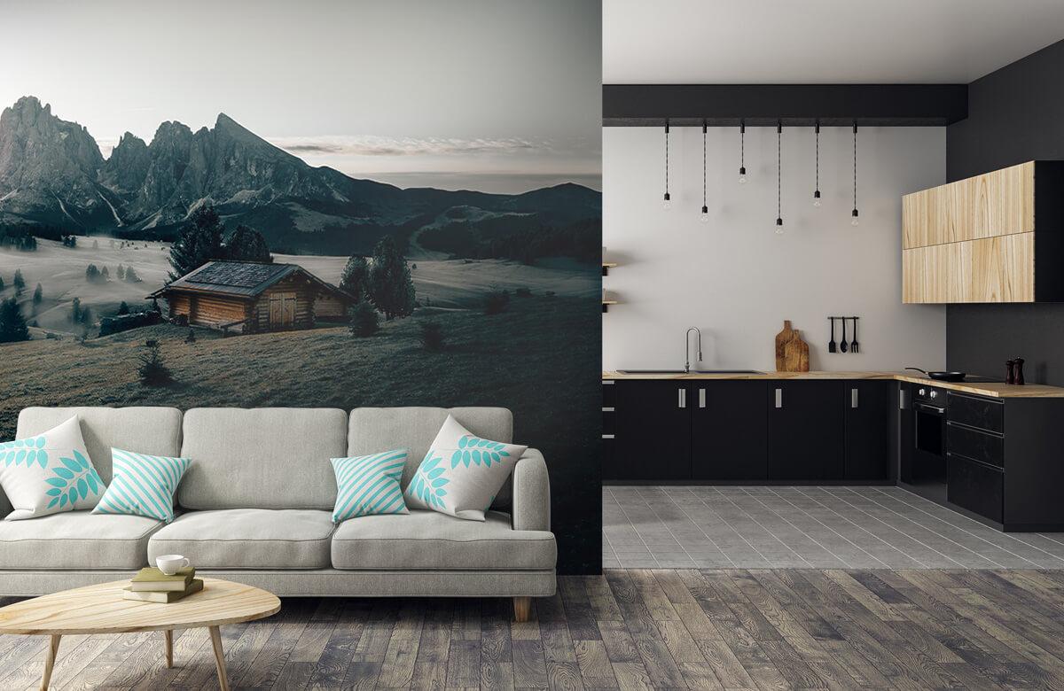 Wallpaper Landschap Zuid-Tirol 11