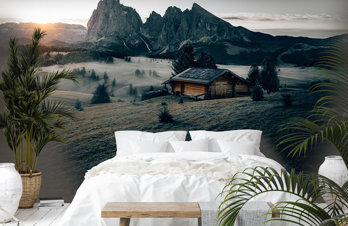 Wallpaper Landschap Zuid-Tirol 7