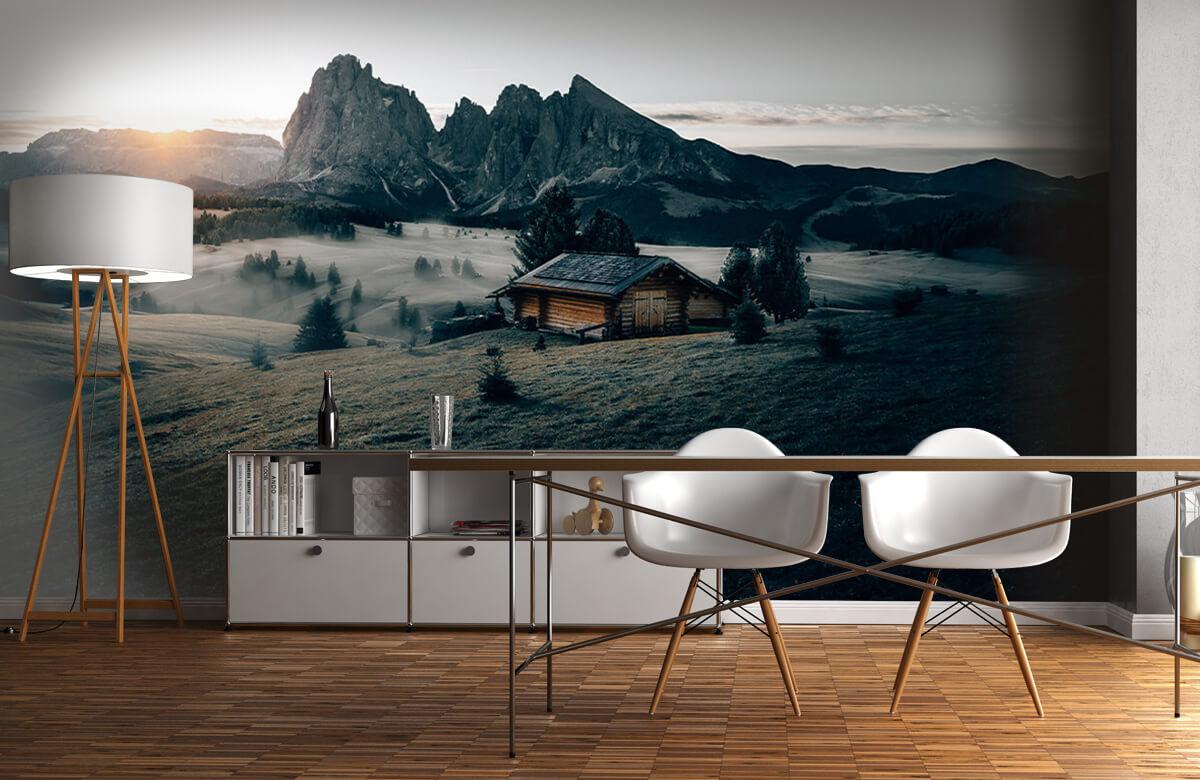 Wallpaper Landschap Zuid-Tirol 1