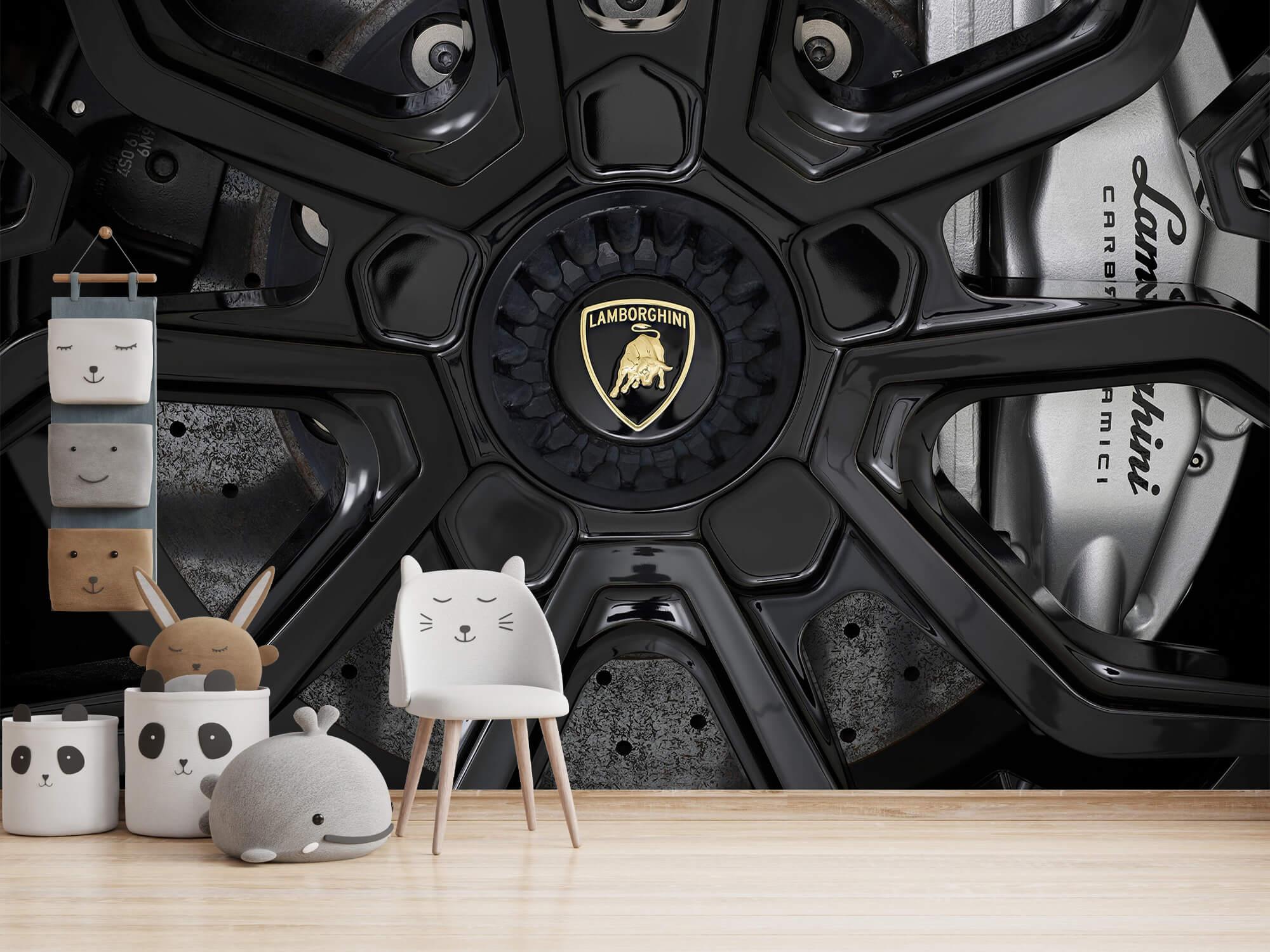 Pattern Lamborghini Huracán - Velg 3